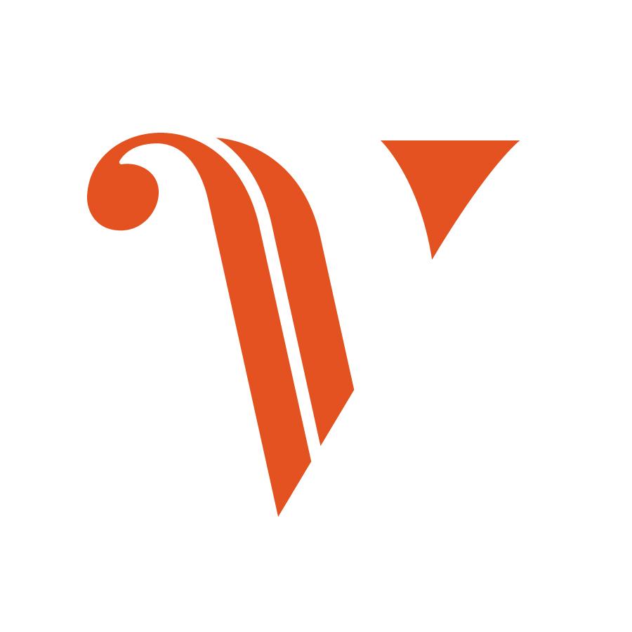 Violons du roy symbol logo design by logo designer Bleuoutremer design