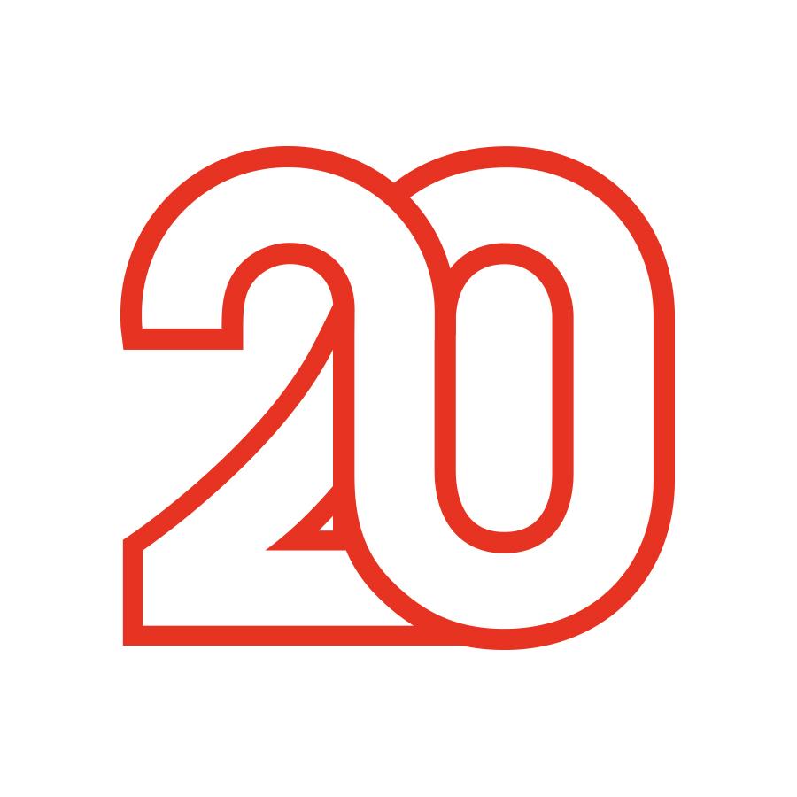 Encounters 20 logo design by logo designer Tom Walker