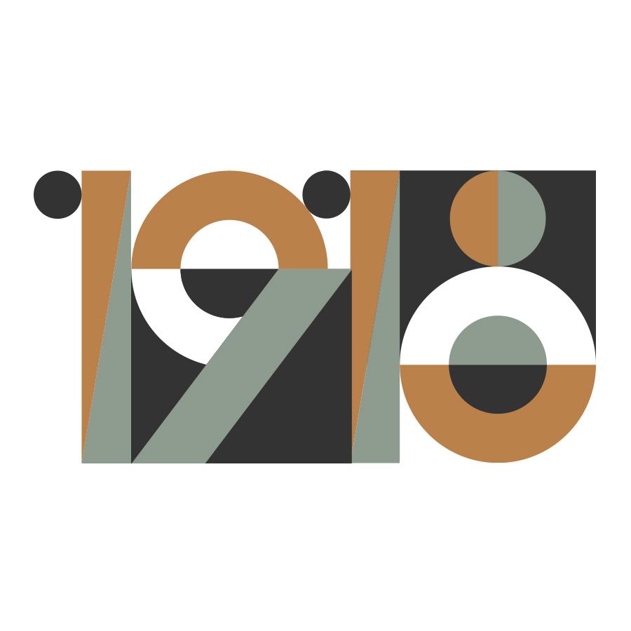 1918 restaurant logo logo design by logo designer Old Rabbit Design for your inspiration and for the worlds largest logo competition