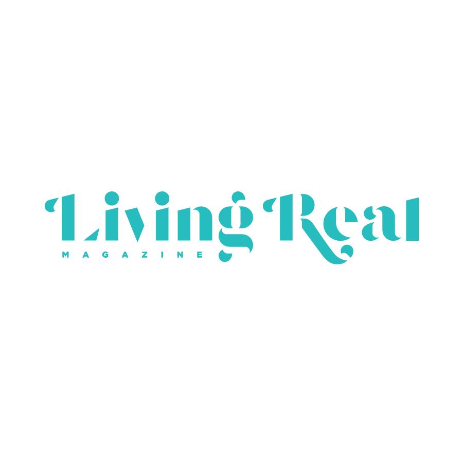 Living Real Horizontal Logo