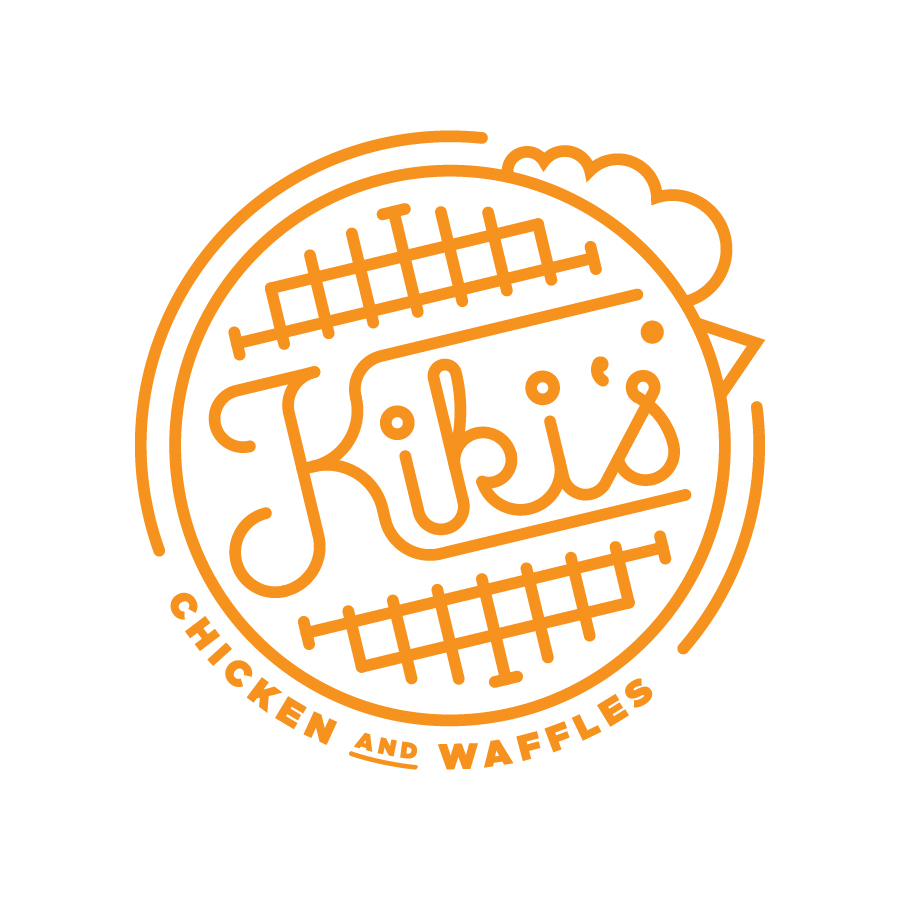Kiki's Chicken and Waffle Logo