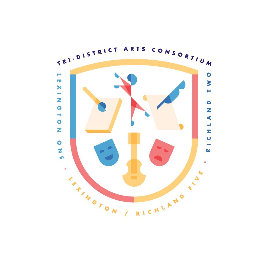 Tri-District Arts Consortium Badge