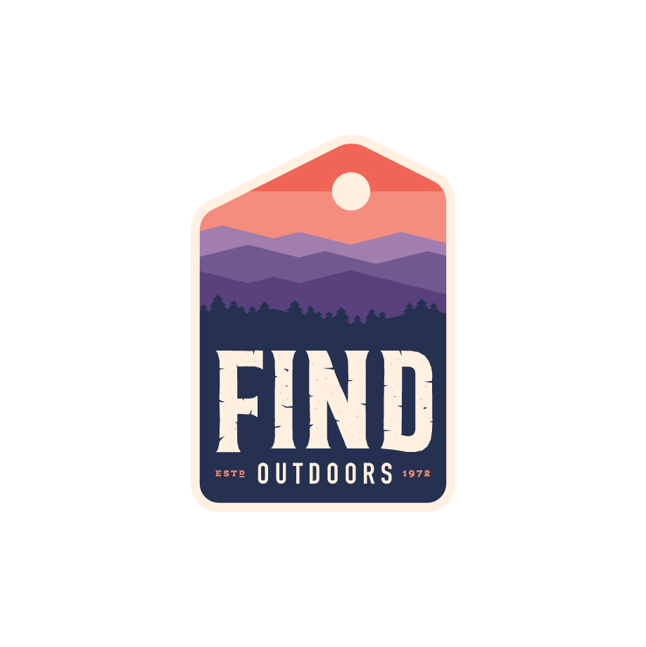 FIND Outdoors Badge