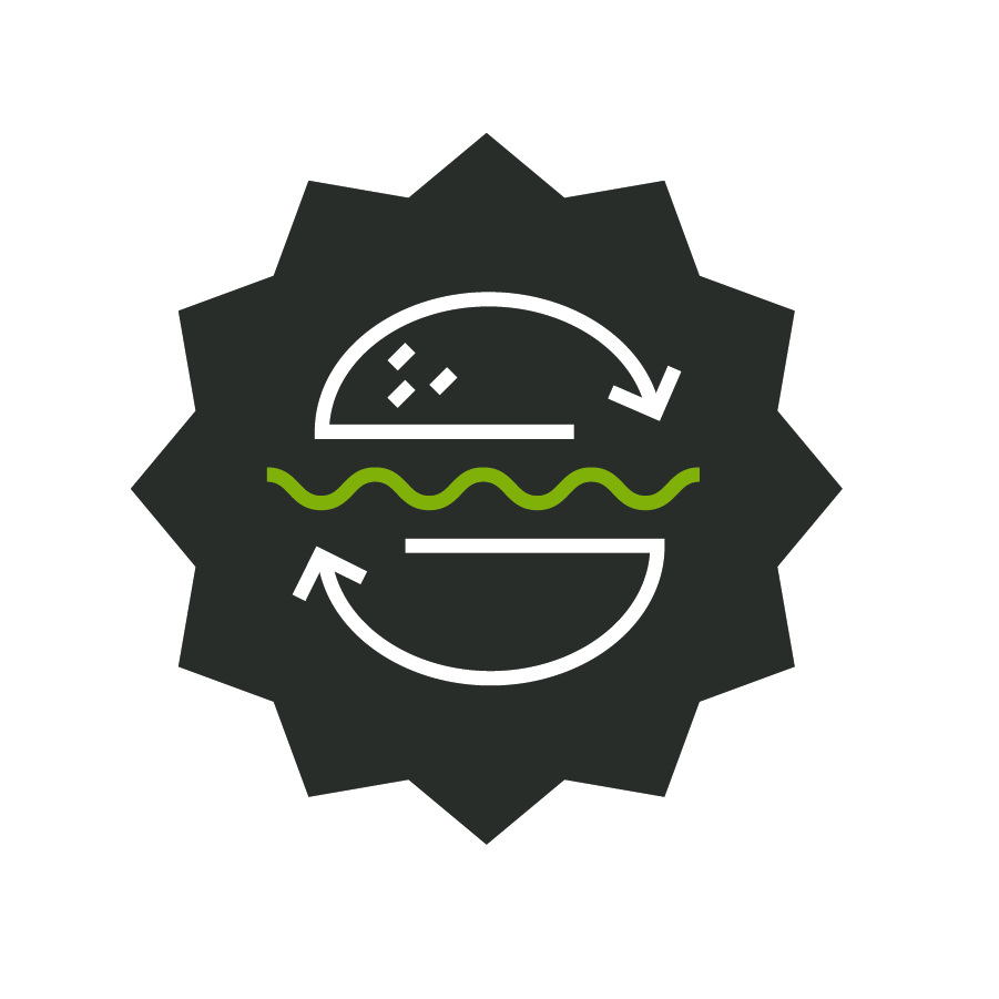 Comeback Burger Icon