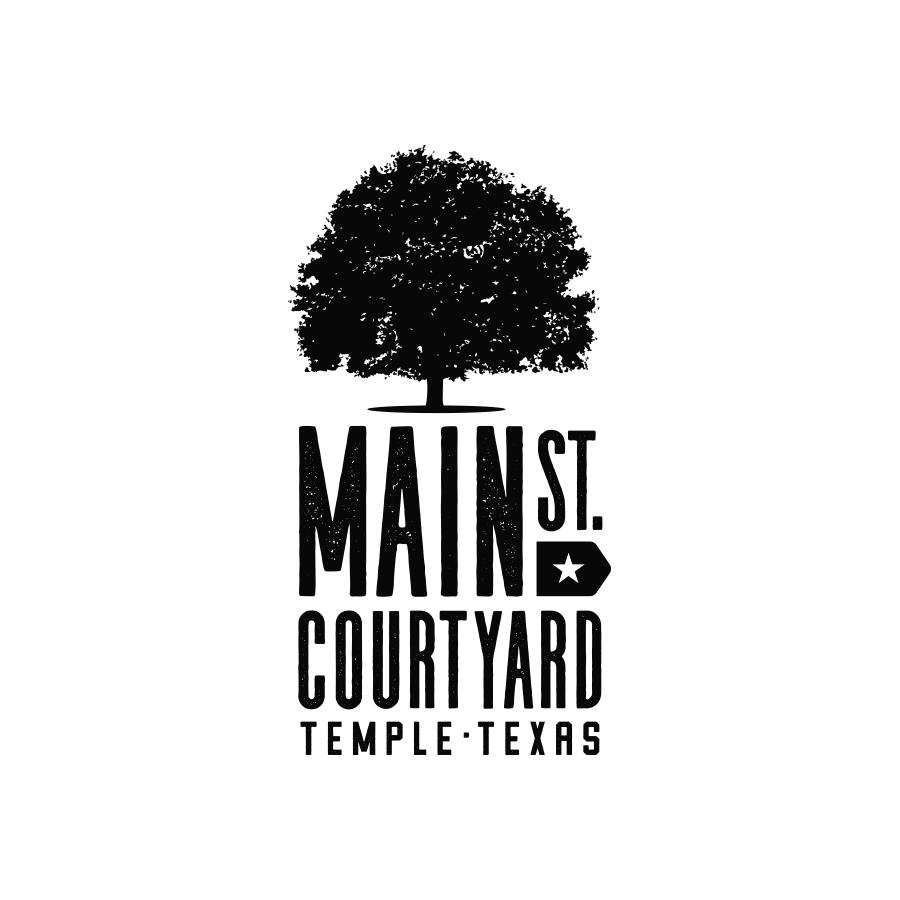 Main Street Courtyard Logo Concept