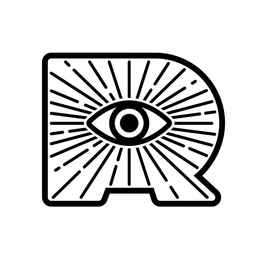 Ryan Lynn Logo White
