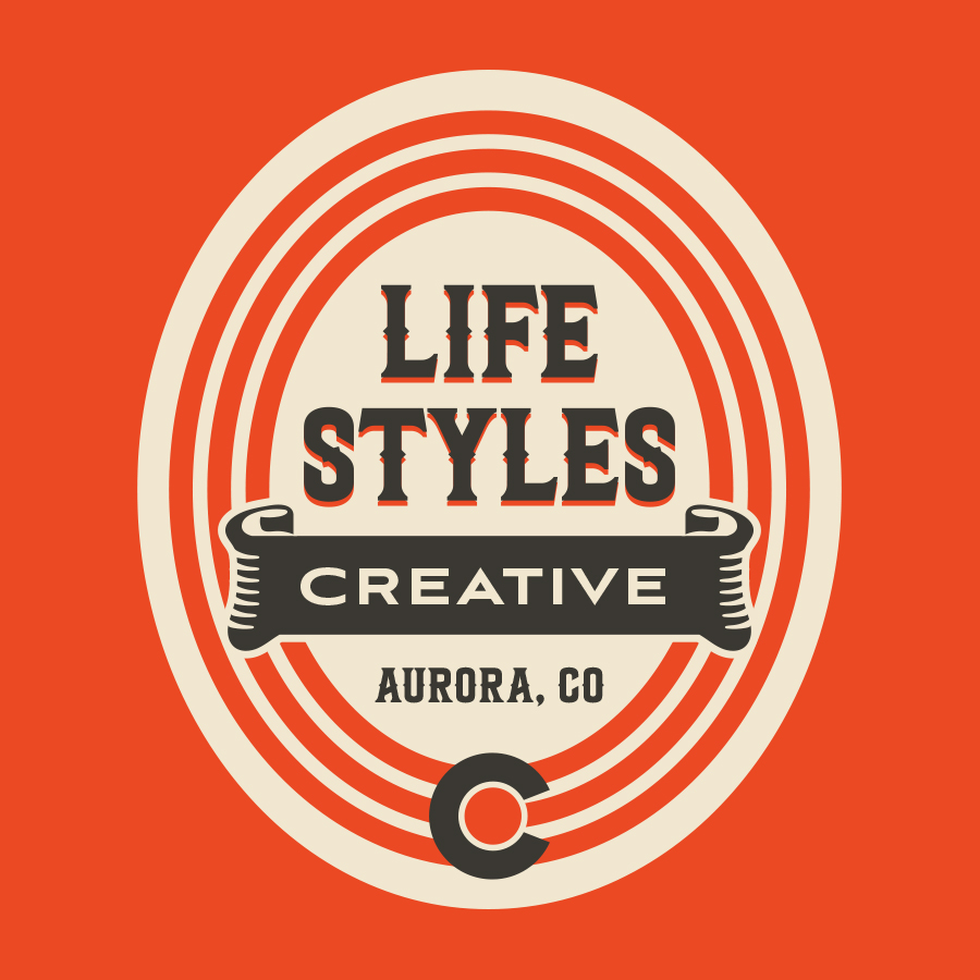 Lifestyles Creative Badge logo design by logo designer Lifestyles Creative for your inspiration and for the worlds largest logo competition
