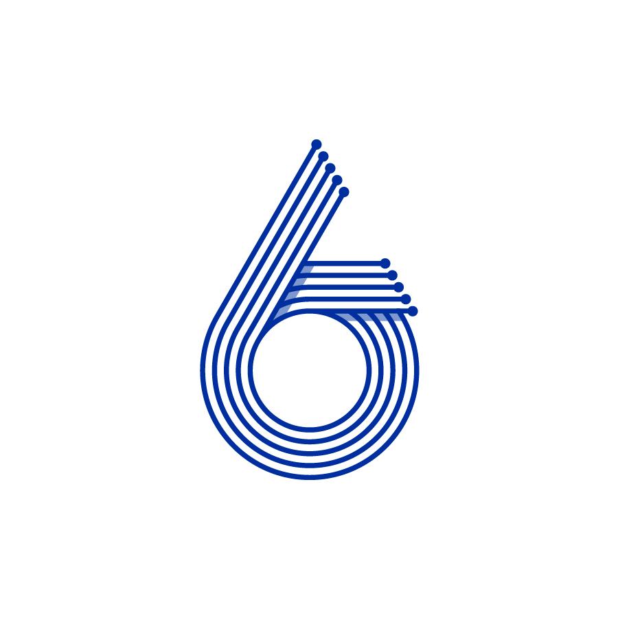 Six Sigma corporate identity concept