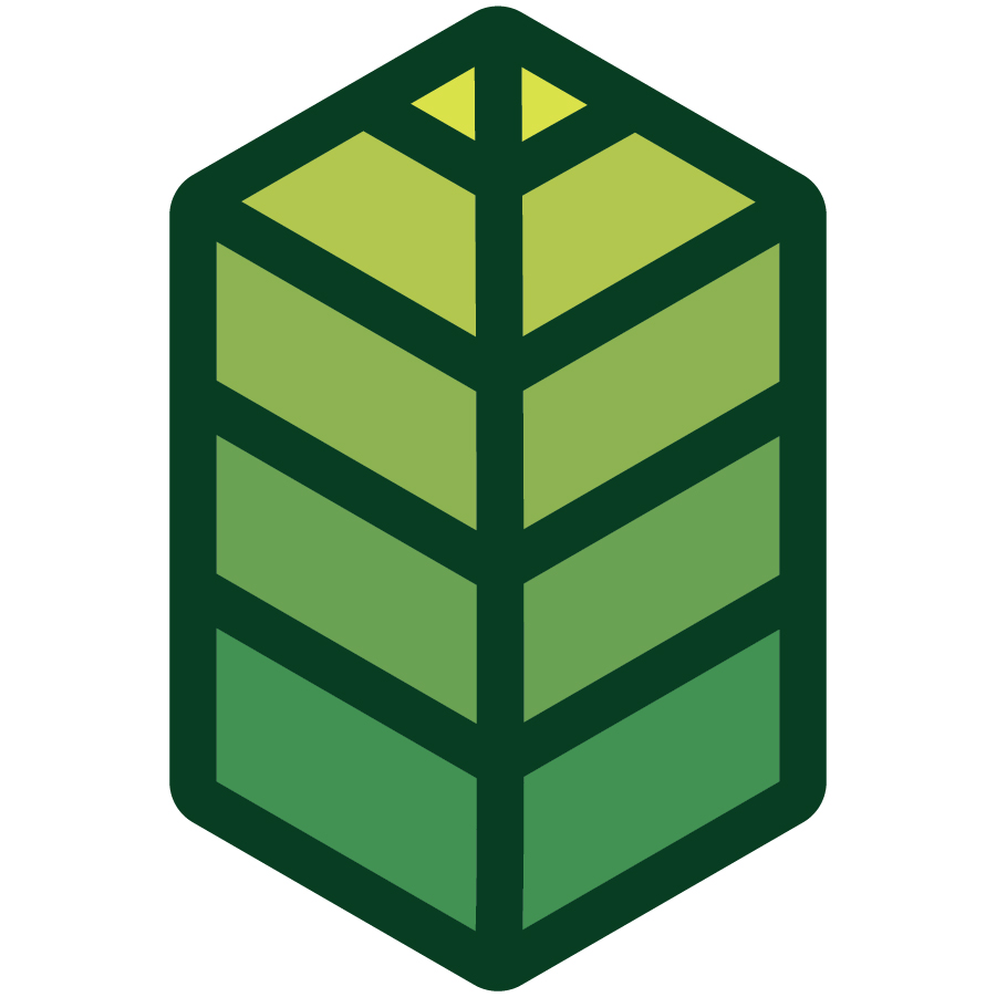 Leaf / Building icon