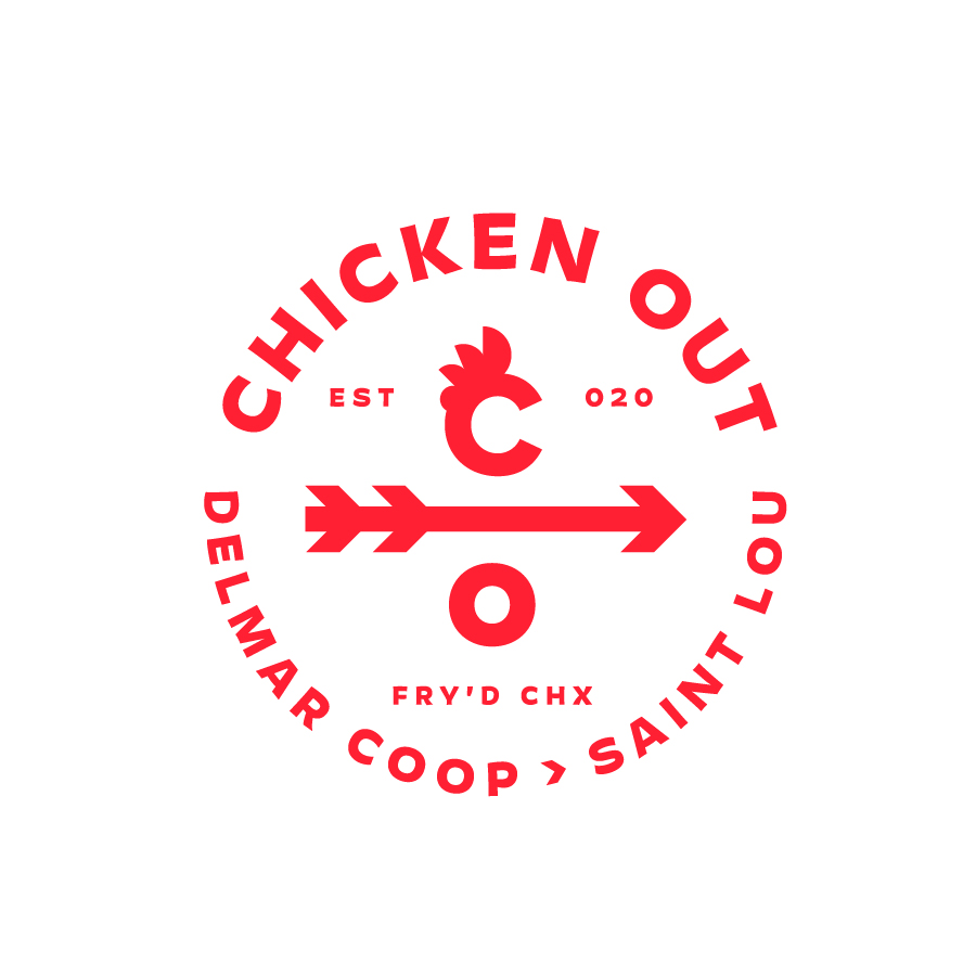 Chicken Out Badge