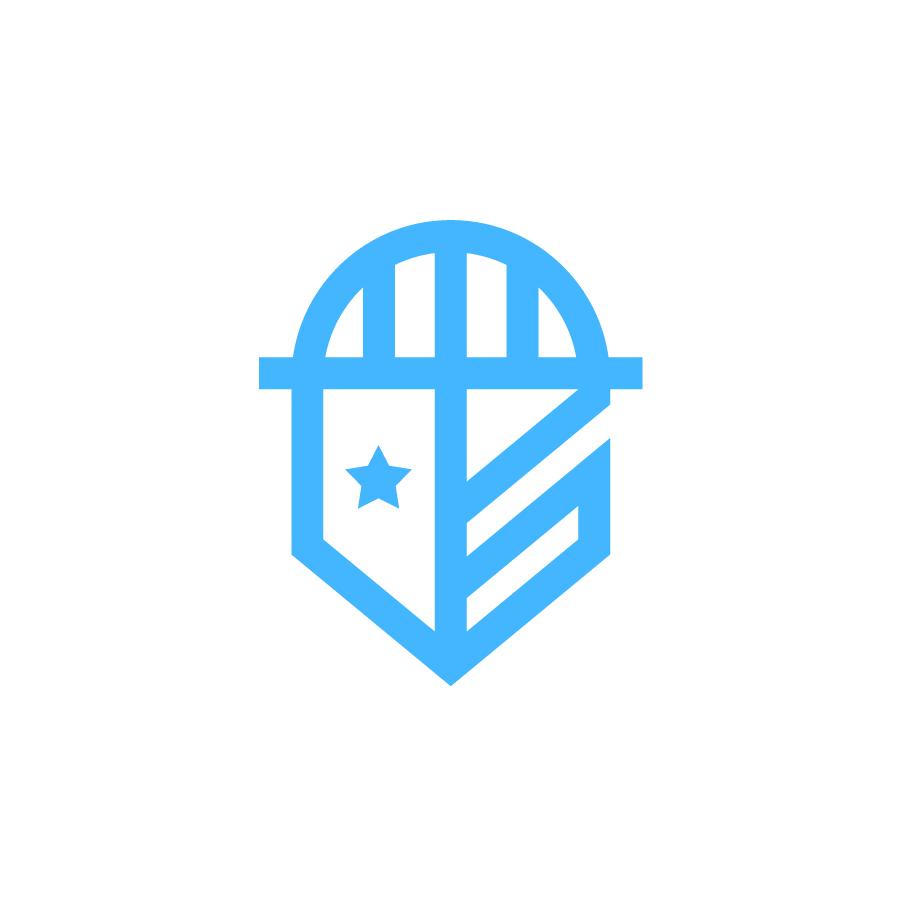 USA Shields Mark