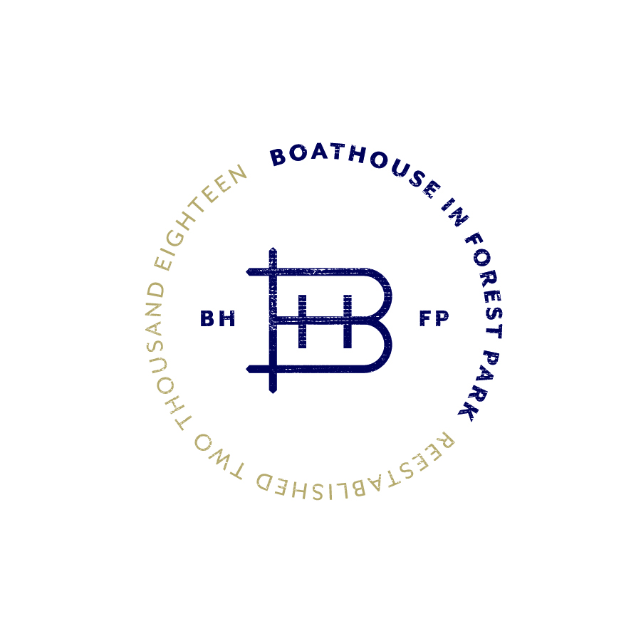 The Boathouse at Forest Park Badge Alternate