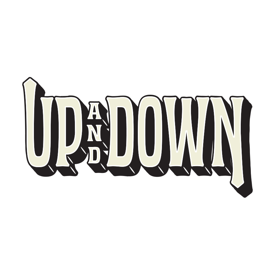 Independence Brewing Up & Down Logotype