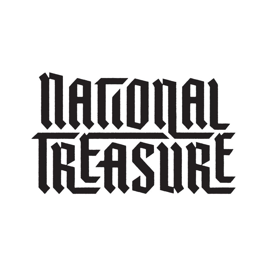 National Treasure Lettering