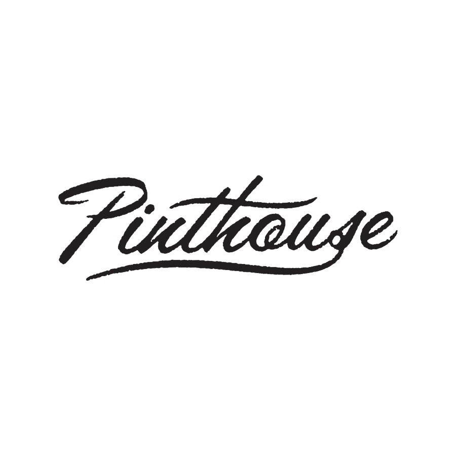 Pinthouse Pizza Script Logotype