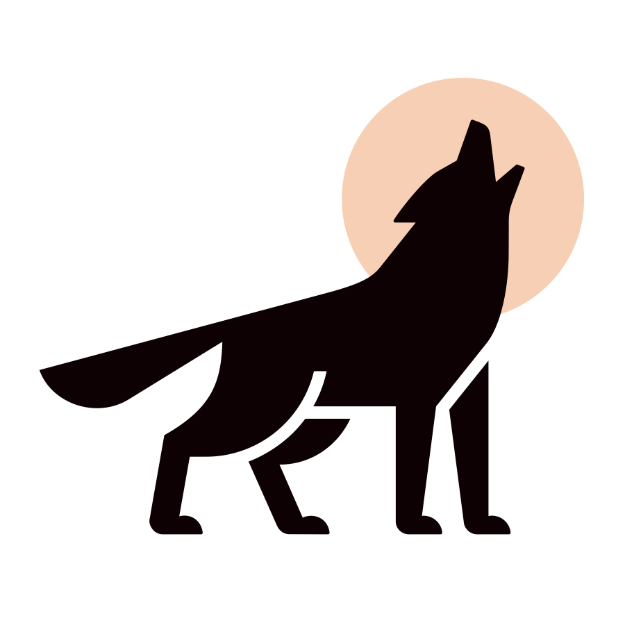 Wolf mark logo design by logo designer Badim36 for your inspiration and for the worlds largest logo competition