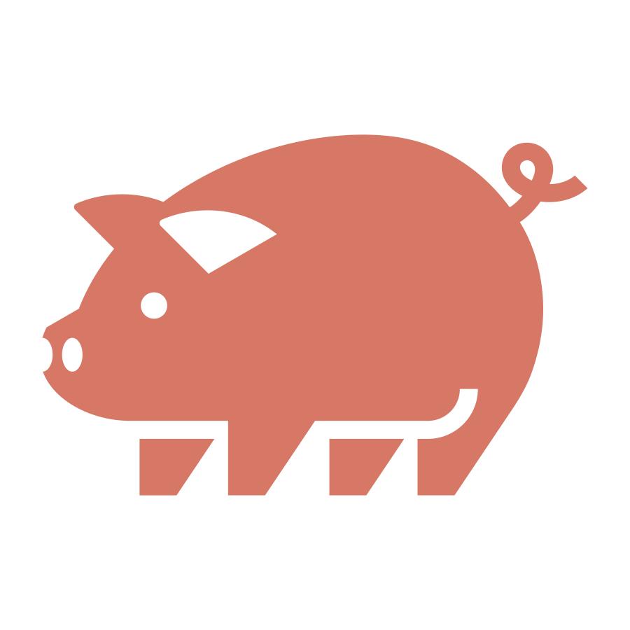 Pig mark logo design by logo designer Badim36 for your inspiration and for the worlds largest logo competition