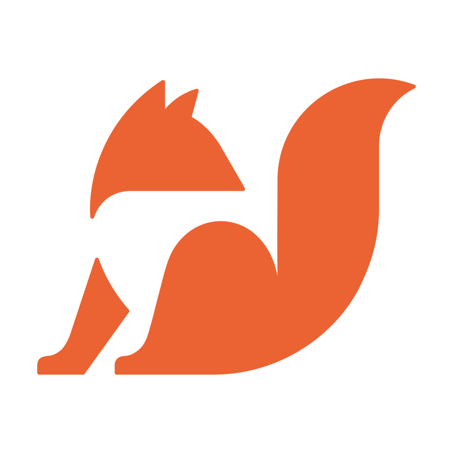 Small fox logo design by logo designer Badim36 for your inspiration and for the worlds largest logo competition