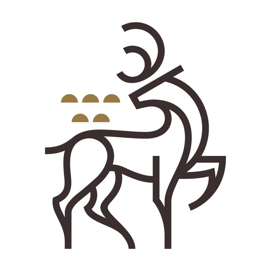 Deer mark logo design by logo designer Badim36 for your inspiration and for the worlds largest logo competition