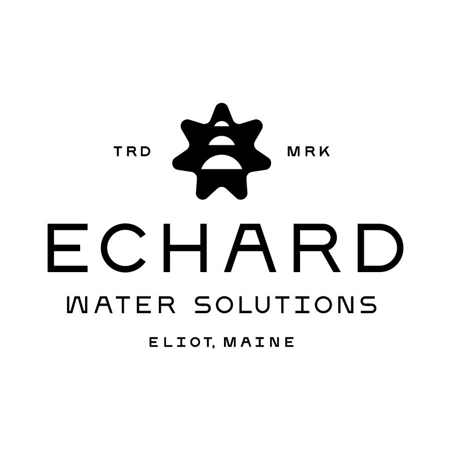 Echard Water Solutions Logo Lockup