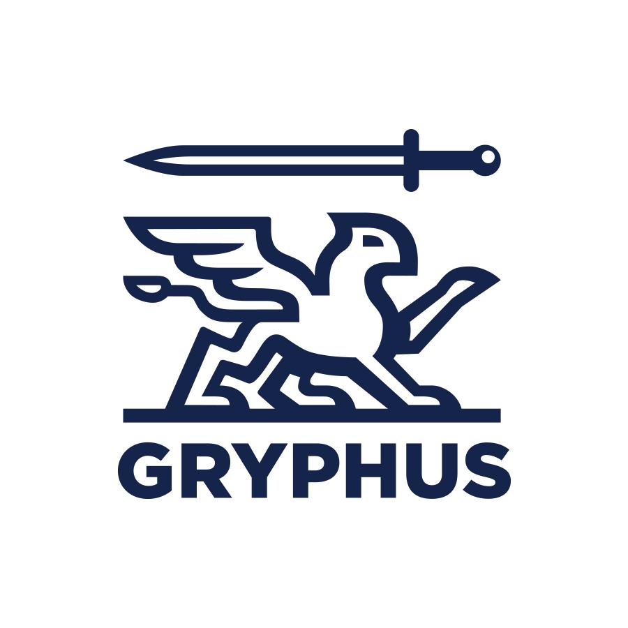 Griffin & Sword logo design