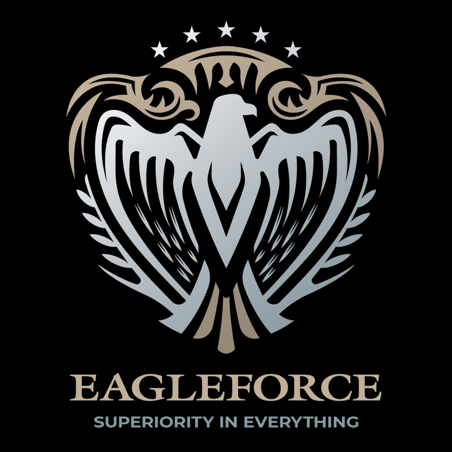 Eagle Heraldry Logo logo design by logo designer Dmitriy Dzendo for your inspiration and for the worlds largest logo competition