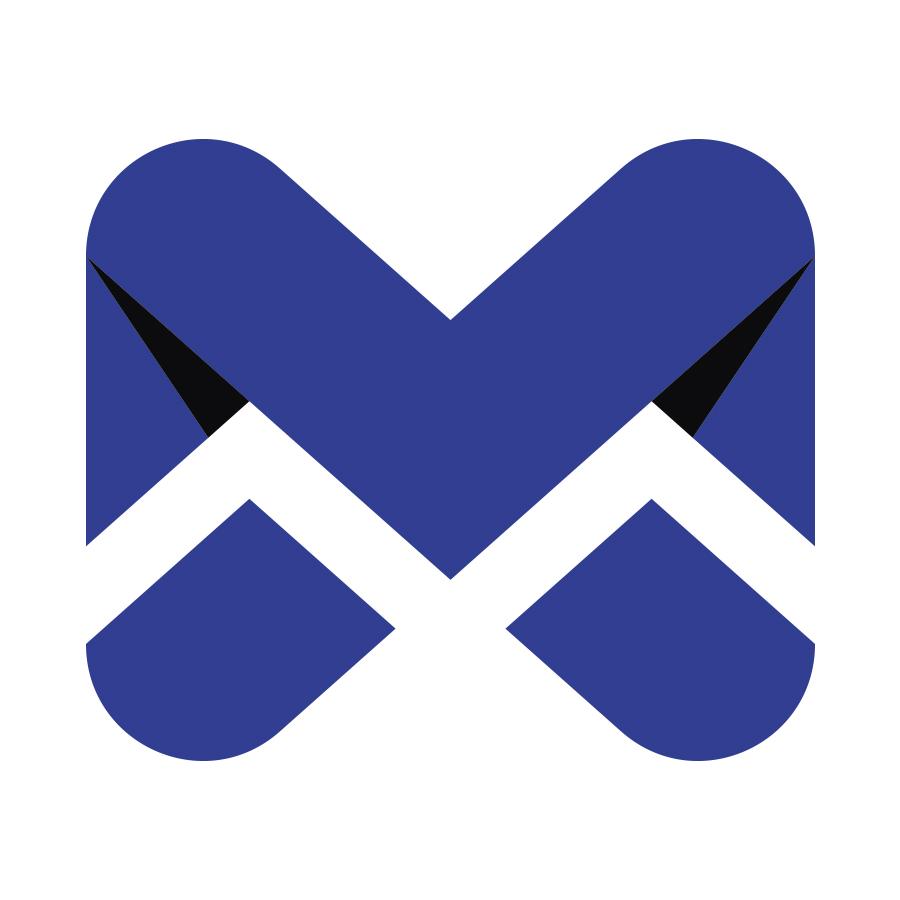Envelope Monogram Mx Logo logo design by logo designer Dmitriy Dzendo for your inspiration and for the worlds largest logo competition
