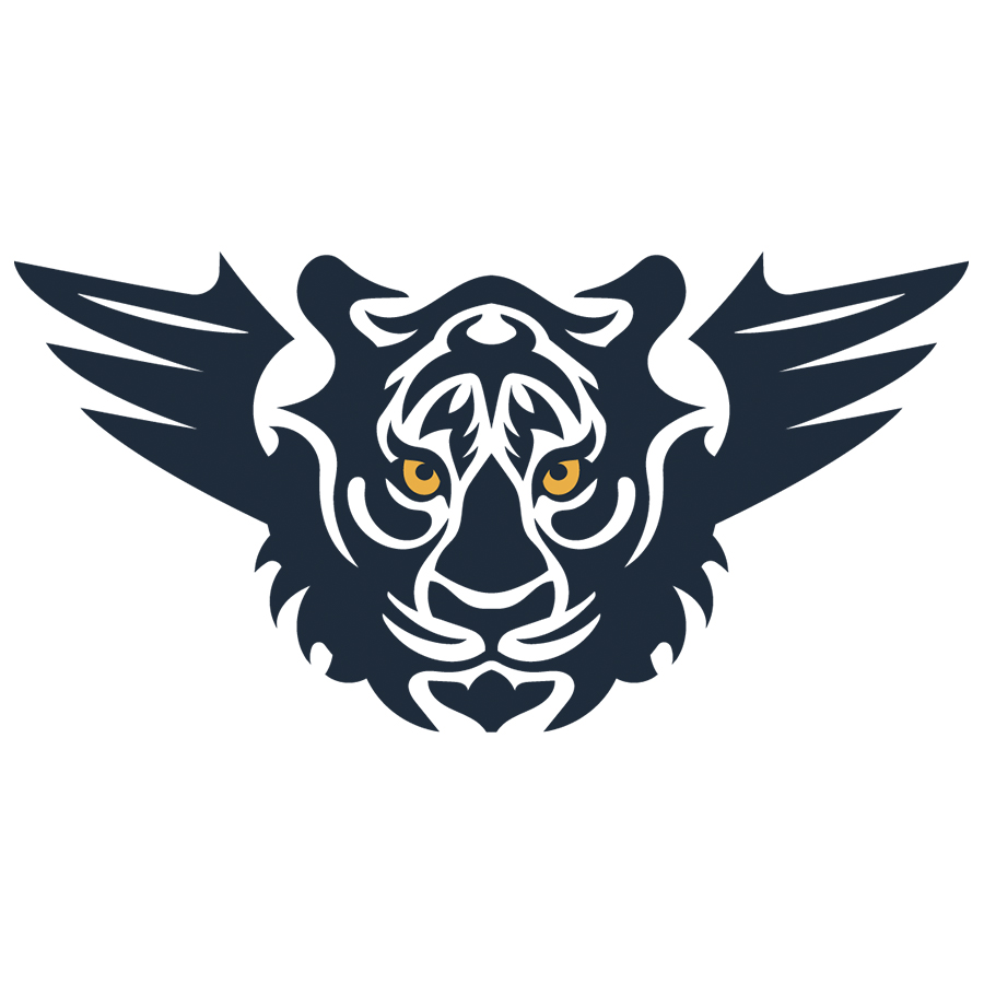 Tiger With Wings Logo logo design by logo designer Dmitriy Dzendo for your inspiration and for the worlds largest logo competition