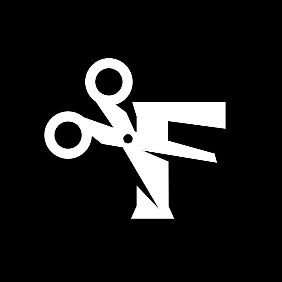 F + scissors