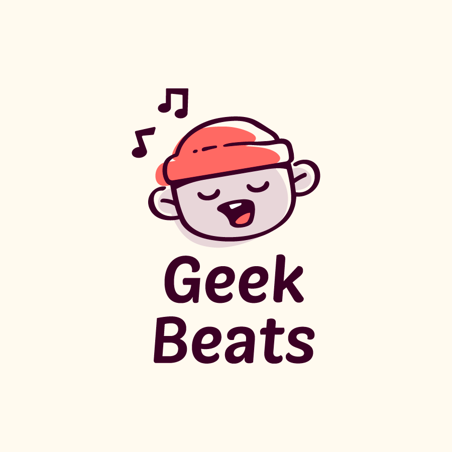 Geek Beats logo design by logo designer Elmira Gokoryan for your inspiration and for the worlds largest logo competition