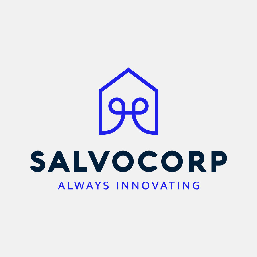 Salvocorp logo design by logo designer Elmira Gokoryan for your inspiration and for the worlds largest logo competition