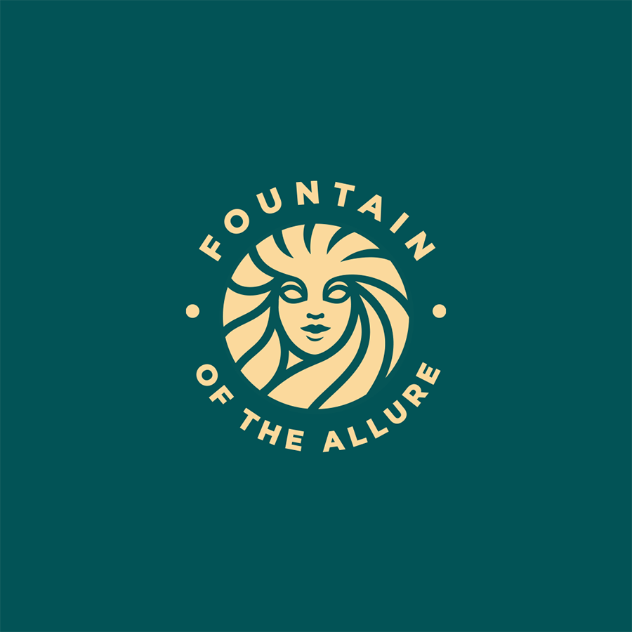 Fountain of the Allure logo design by logo designer Yana Uglitskikh for your inspiration and for the worlds largest logo competition