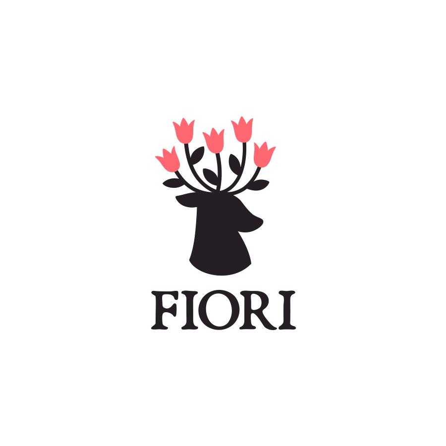 Fiori logo design by logo designer Yana Uglitskikh for your inspiration and for the worlds largest logo competition