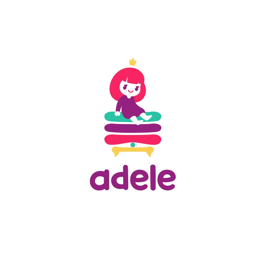 Adele logo design by logo designer Yana Uglitskikh for your inspiration and for the worlds largest logo competition
