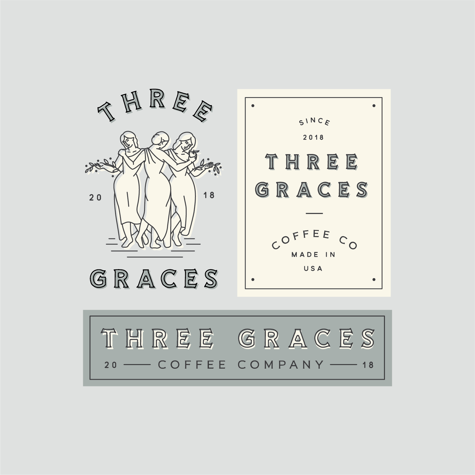 Three Graces Branding
