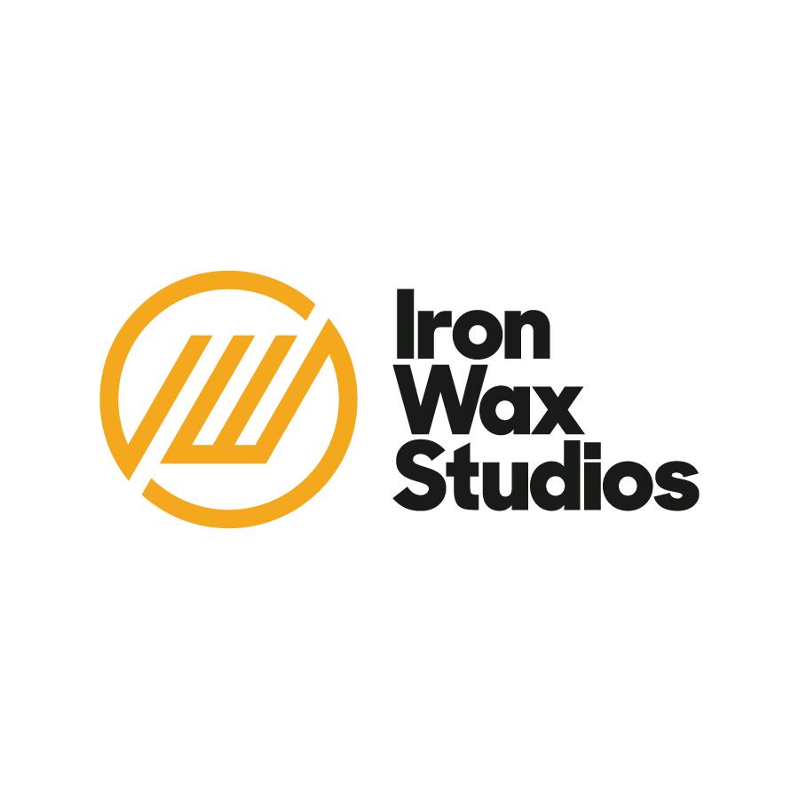 Iron Wax Studios - Logo Lockup