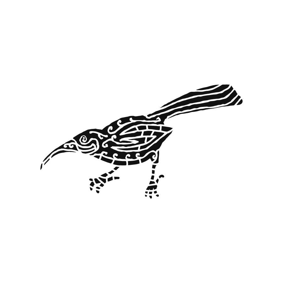Huia Bird - Maori Urban fashion