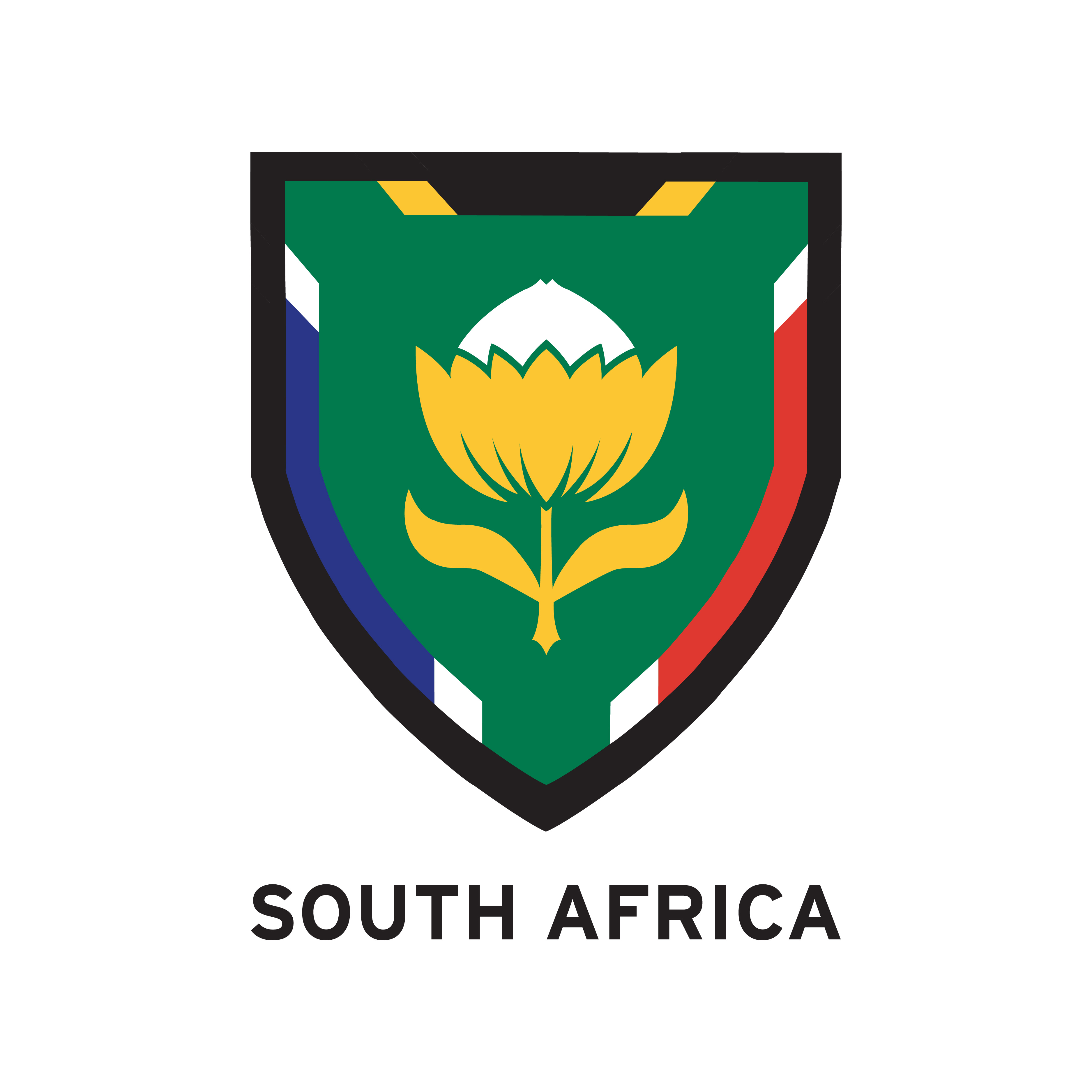 South Africa Soccer Crest