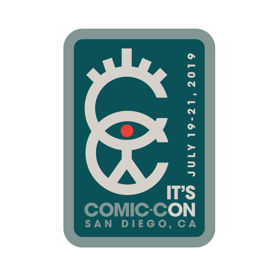 Comic-Con Badge