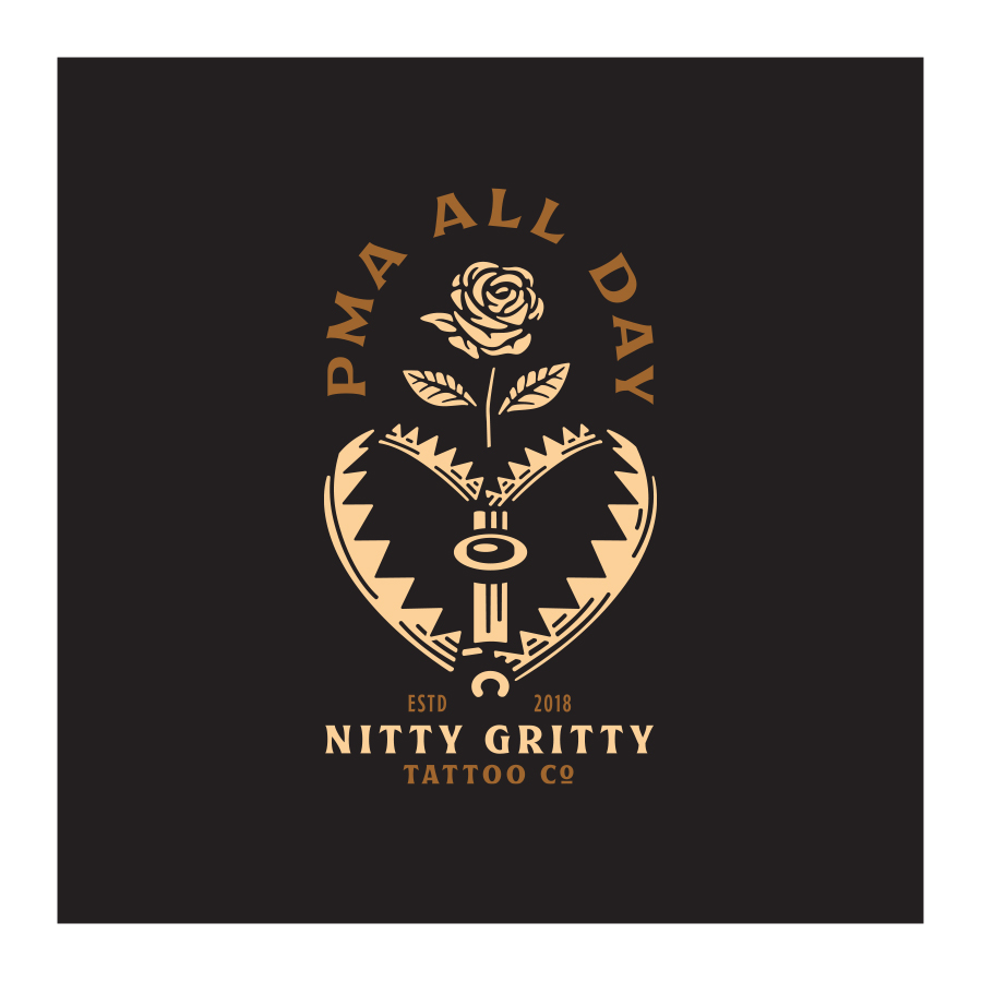 Nitty Gritty Tattoo Co. badge