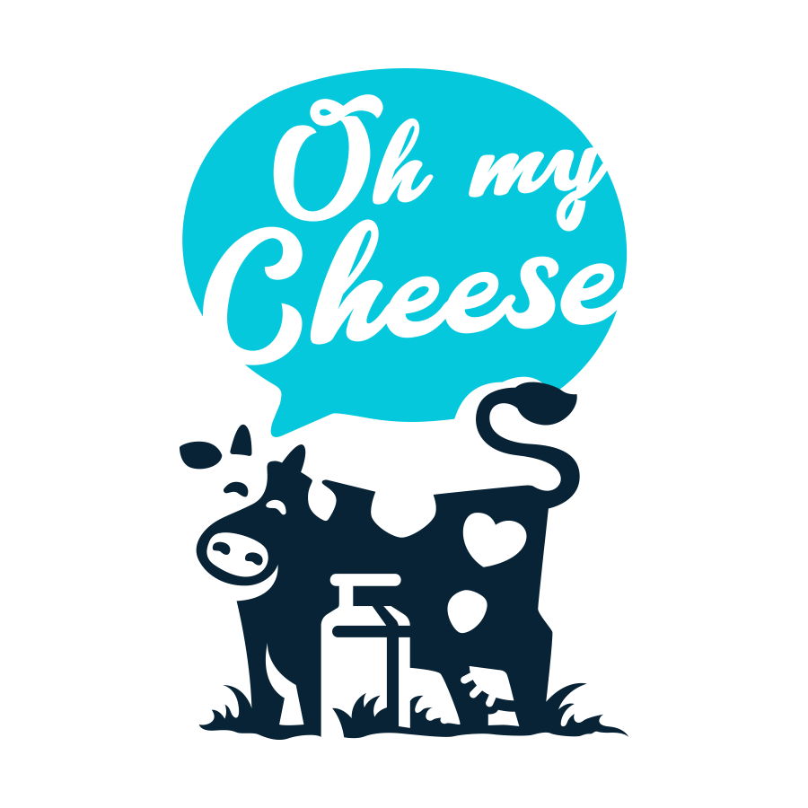 Oh my Cheese logo design by logo designer AndriiKovalchuk for your inspiration and for the worlds largest logo competition