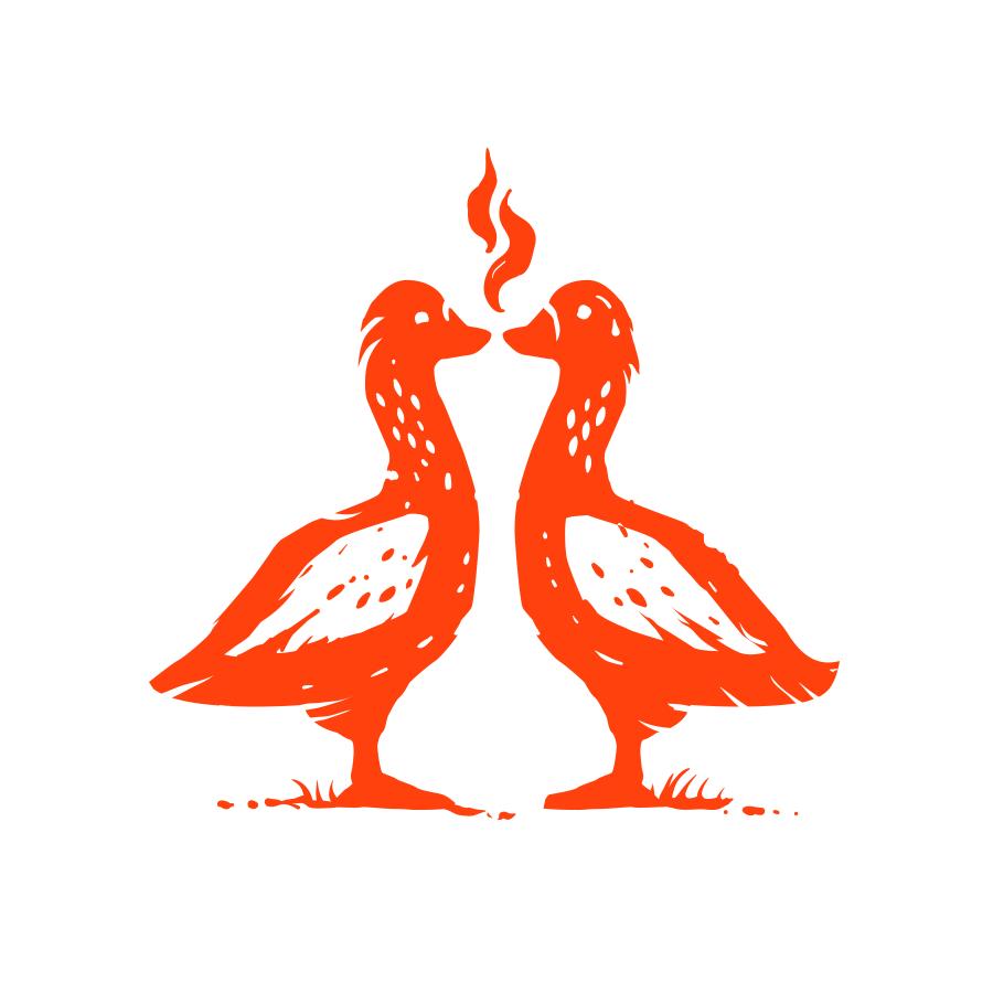 Hookah and geese