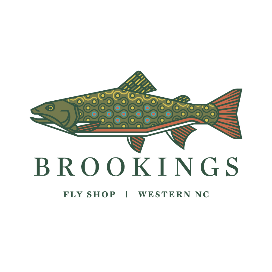 Brookings Brook Trout Logo