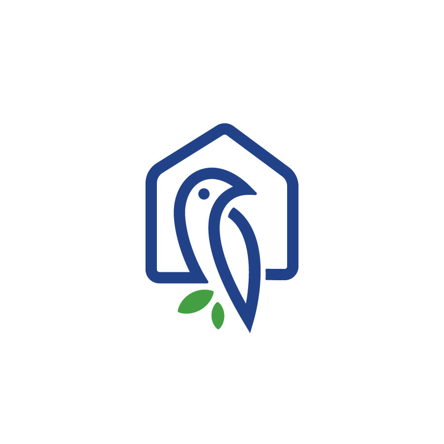 House of Birds logo design by logo designer Ali Aljilani for your inspiration and for the worlds largest logo competition