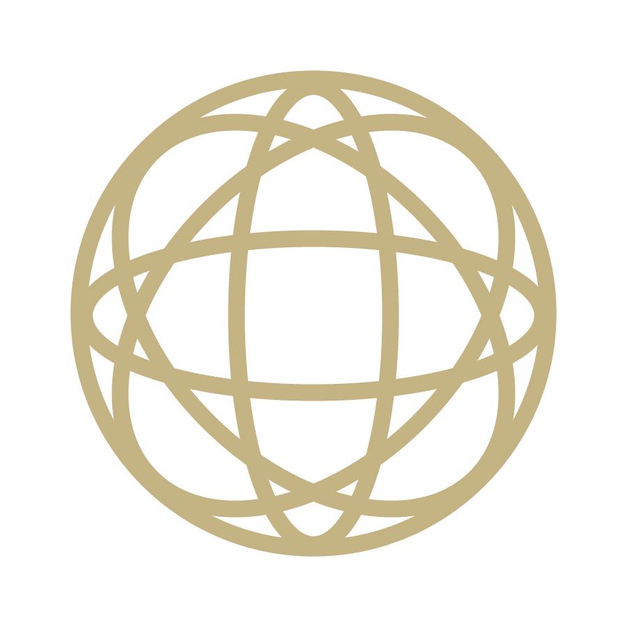 Orbium Travel Globe Logomark