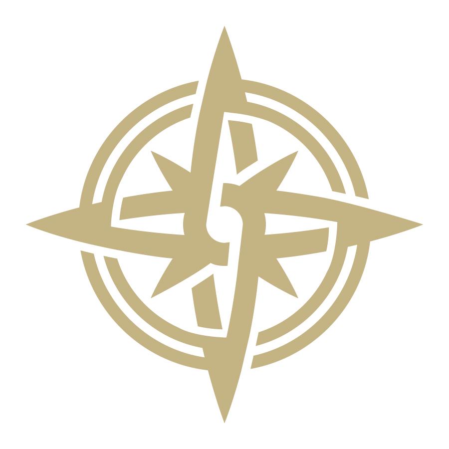 Orbium Travel Compass Logomark