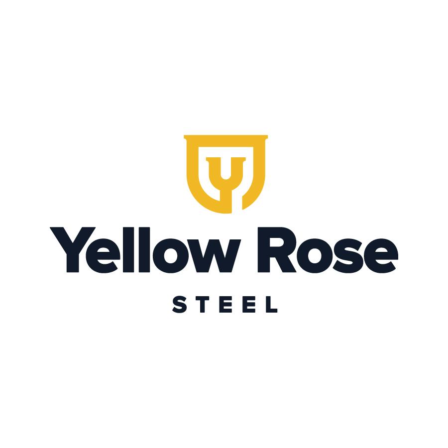 Yellow Rose Steel Logo