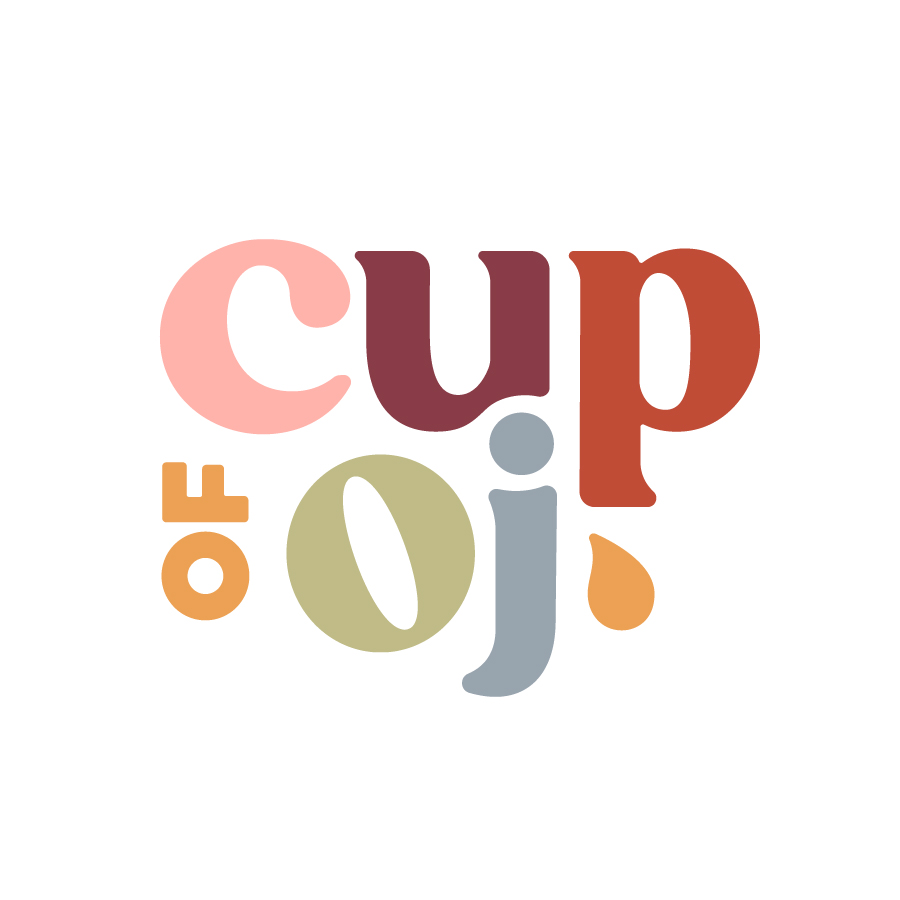 Cup of Oj Stacked Type Lockup