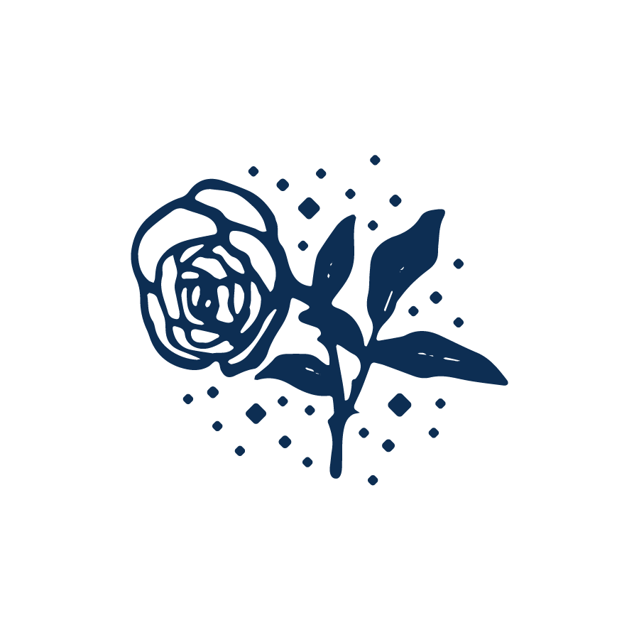 White Rose logo design by logo designer Grant Mortenson for your inspiration and for the worlds largest logo competition