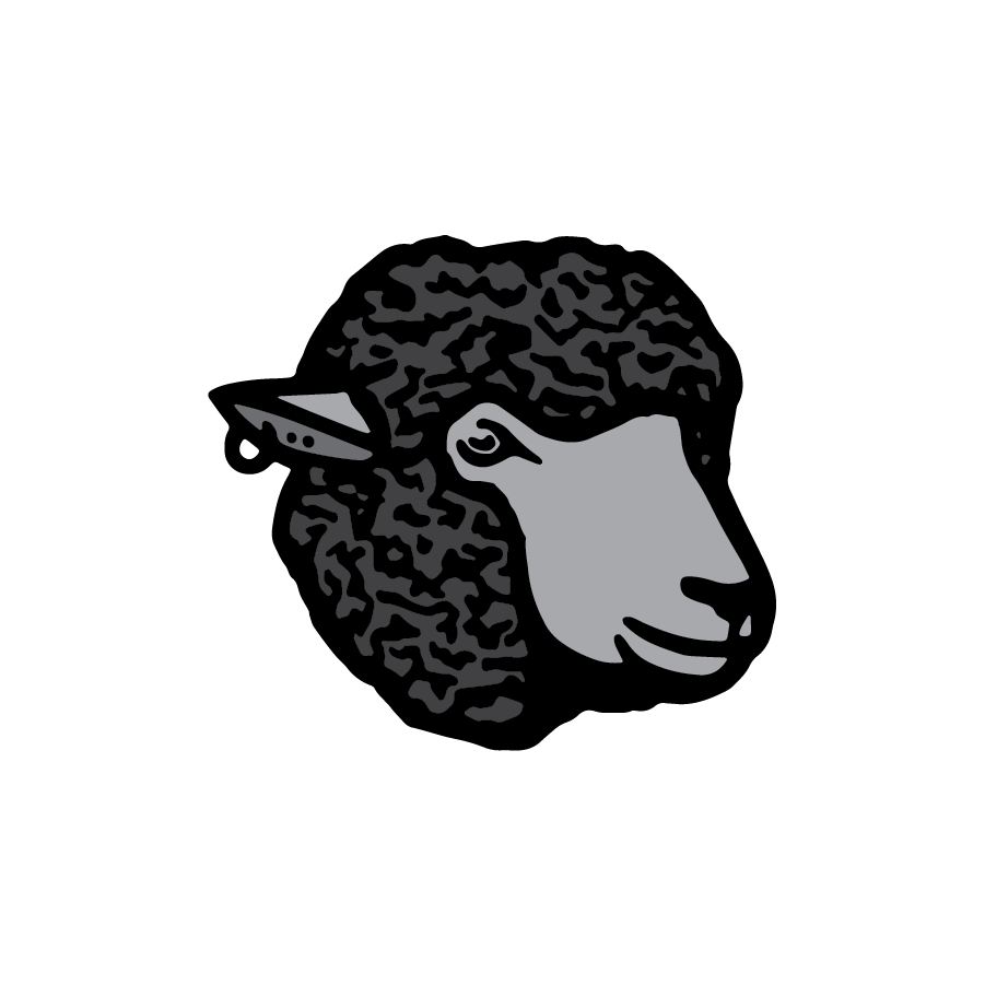 Black Sheep logo design by logo designer Grant Mortenson for your inspiration and for the worlds largest logo competition